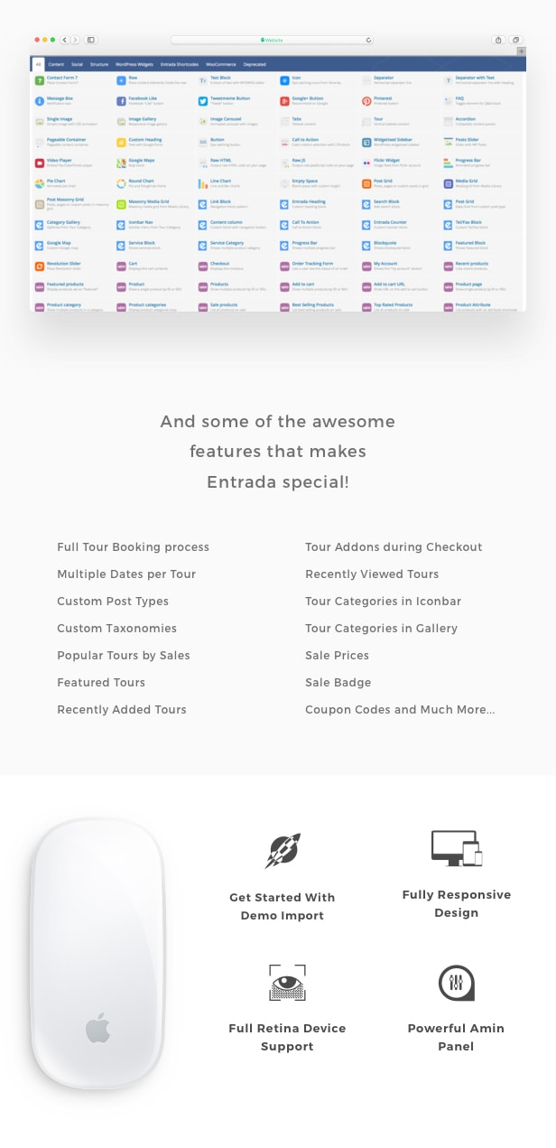 Tour Booking - Tour Adventure WordPress Theme - Entrada - 3
